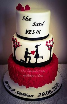 She Said Yes !!! by Bobbie-Anne Wright (For Heaven's Cake)