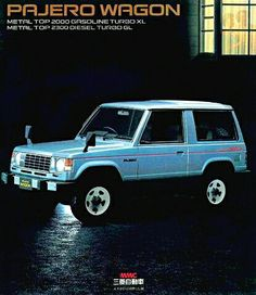 Mitsubishi Pajero From The Late To Early Jeeps