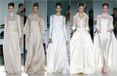trajes de novia mangas larga - Buscar con Google