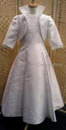 Snow White Communion Dress + Bolero 6 TO 10yr