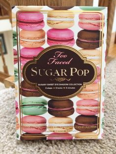 Too Faced SUGAR POP Eye Shadow Collection 3 Steps, Looks, In Mins! #TooFaced