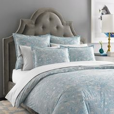 Jonathan Adler Malachite Duvet Collection