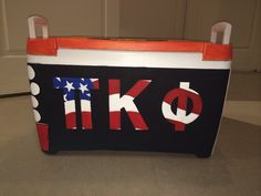 Pi Kappa Phi American flag Cooler