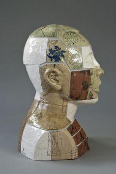 Fig 6. Restoration 2, Liu Xiaobo, ceramic, 2012 (photographer Tony Richards).. Stephen Dixon