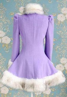 Violet Winter Coat/Dress
