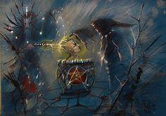 conjure spirit .  witch , warlock .