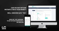 """Can you buy #Bitcoin instantly with your money? Well Unocoin says """"Yes"""" - Now use NetBanking to buy bitcoin immediately on Unocoin"""