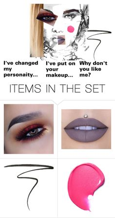 """""""What Happened..."""" by k-aesthetic ❤ liked on Polyvore featuring art, Fall and makeup"""