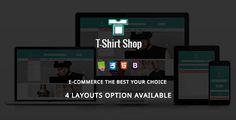 Download Nulled Tshirt Shop  Fashion Responsive Prestashop Theme For Free