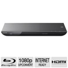 Sony 3D Blu-Ray DVD Player, With 3D Blu-ray Disc Playback In Full HD 1080p, Built-In Wi-Fi, 2D To 3D Conversion, Access To Sony Entertainment Network: Netflix, YouTube, Pandora, Hulu Plus, Smartphone, Tablet Remote App, Black Finish by Sony. $133.99. Sony 3D Blu Ray DVD Player • Built-in Wi-Fi connectivityEasily connect to the internet through your home's wireless broadband network • Sony Entertainment Network Instantly stream a wide variety of online movies, videos, TV shows...