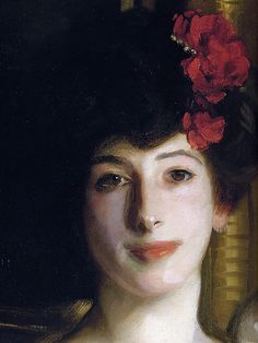 John Singer Sargent: Ena and Betty, Daughters of Asher and Mrs. Wertheimer (detail 2) | Flickr - Photo Sharing!