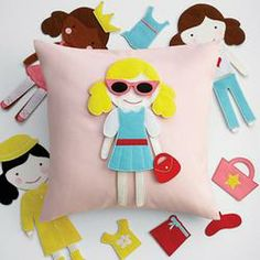 Doll Party Pillow  $59.95
