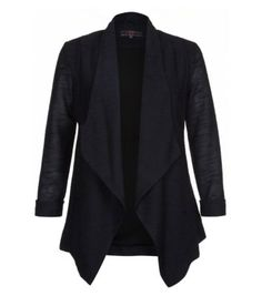 Navy Waterfall Blazer /want to make one just like it