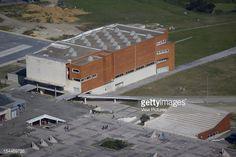 University Library, Biblioteca UniversitaRia, Alvaro Siza, Aveiro, Portugal Aerial View Of Library, Alvaro Siza, Portugal, Architect,