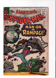 AMAZING SPIDER-MAN #32 Silver Age classic! Spidey battles Doctor Octopus!! http://r.ebay.com/y7Ofay