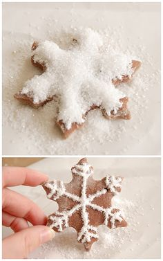 salt dough gingerbread cookie ornaments