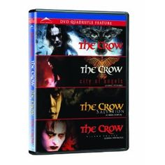 The Crow Quadruple Feature The Crow / The Crow 2: City Of Angels / The Crow 3: Salvation / The Crow 4: The Wicked Prayer