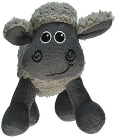 Soft, faux fleece cuddle toy Features an inner squeaker for added enticement Great chew and cuddle toy for dogs