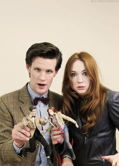 Yayyyyyyyy. Doctor and Amy or you could say that this is Matt and Karen.