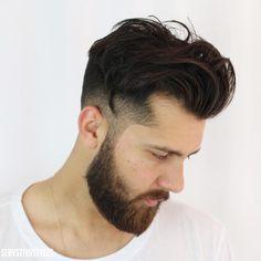 Mens Modern Hairstyles, Men's Hairstyle, Haircuts, Rings For Men, Mens Fashion, Hair Styles, Art, Barbers, Hair Makeup
