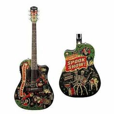 FENDER VINCE RAY SPOOKS SHOW,T BUCKET ACOUSTIC/ELECTRIC GUITAR