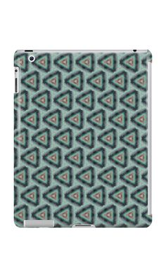 """Grunge texture ""striped triangles"""" iPad Cases & Skins by floraaplus 