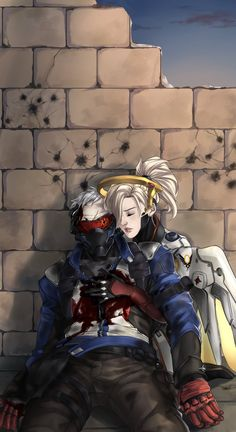 Overwatch mercy 76 soldier 76 /Jack and Mercy /Angela Overwatch Tracer, Overwatch Mercy, Overwatch Comic, Overwatch Drawings, Character Concept, Character Art, Manga, Overwatch Wallpapers, Videogames
