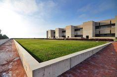 #sundaybldgfeature Salk Institute by Louis Kahn #architecturalpilgrimage (at Salk Institute)