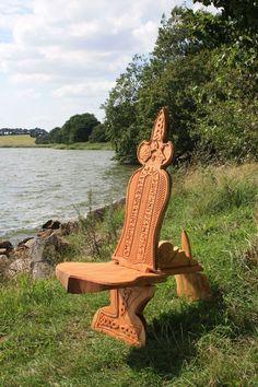 viking carving Wikinger Schnitzerei und Möbel