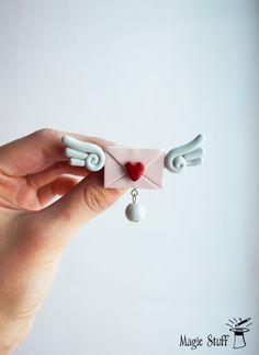 Lettera d'amore con le ali ali lettera di amore di MagicStuffStore
