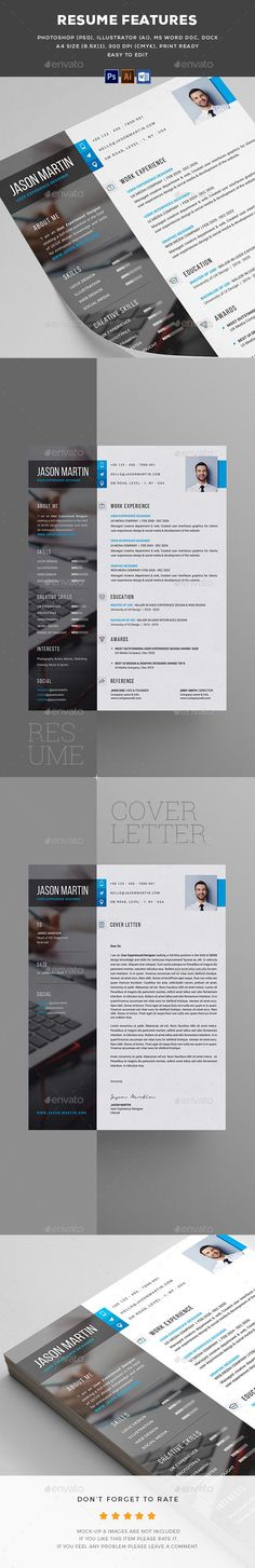 Business infographic : Resume #Resumes Stationery Download Here: graphicriver.net/. If youre a