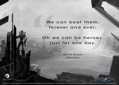 """""""We can be heroes, just for one day."""" -David Bowie #WednesdayWisdom #SealtheBreach"""