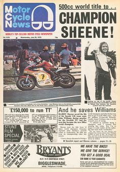 When Barry Sheene won the 1976 world championship – Eyewitness special (Part 2/3) | MCN