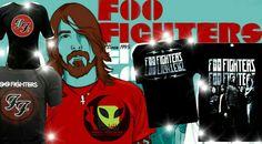 Camisetas Foo Fighters