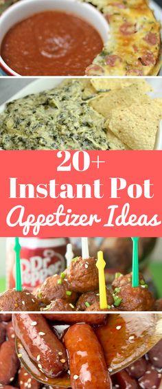 instant pot recipes / instant pot appetizers / instant pot appetizer ideas / instant pot dips / #instantpot #appetizerrecipes #appetizerideas #instantpotrecipes #easyinstantpotrecipes via @clarkscondensed