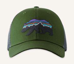 593da6caea1  Fitz Roy  Bear Trucker Hat Patagonia Hat
