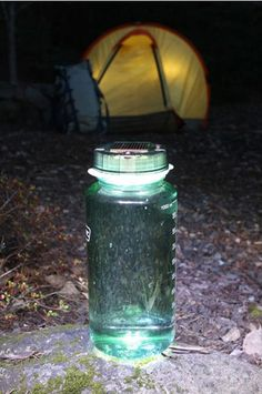 10 camping gadgets worth packing-via apartment therapy  Bottle-solar-light_rect540