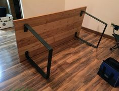 idea to have peg holes to go from coffee table to buffet height table Photos of metal table legs sent by our loyal customer base. You'll find only flat steel table legs in this gallery until we get more photos of our new products.