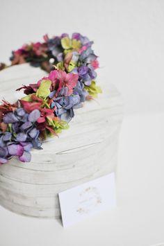 Corona flores preservadas Flower Crown Wedding, Bridal Crown, Wedding Flowers, Wedding Crowns, Flower Crowns, Wedding Hairstyles With Crown, Diy Crown, One Fine Day, Fascinators