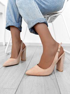 Γόβες Μυτερές Μπεζ - You Raise Me Up Kitten Heels, Pumps, Shoes, Style, Products, Fashion, Zapatos, Swag, Moda