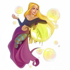Чародейки witch Корнелия и пузырек