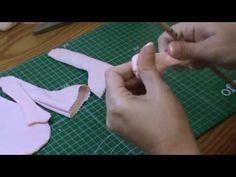 Muñeca completa 2ª parte: Coser piezas y rellenar - YouTube
