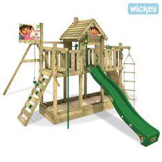 Fancy Spielhaus Wickey Dora s Treehouse Spielturm mit vielen Variationsm glichkeiten