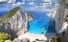 WALLPAPERS HD: Zaykanthos Island Beach Greece