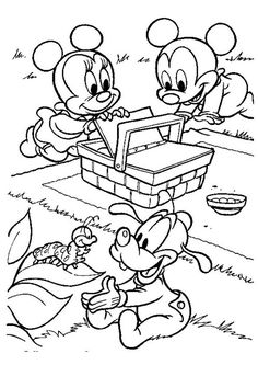 Minnie Mouse Colouring Page This Site Has Tons Of The Like Would