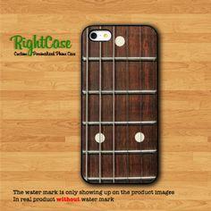 ACOUSTIC GUITAR FRETS IPhone 5 Case Wood Styleby rightcase on Etsy
