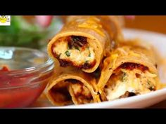 Chicken Cream Cheese Taquitos and Chicken Crescent Bake - YouTube