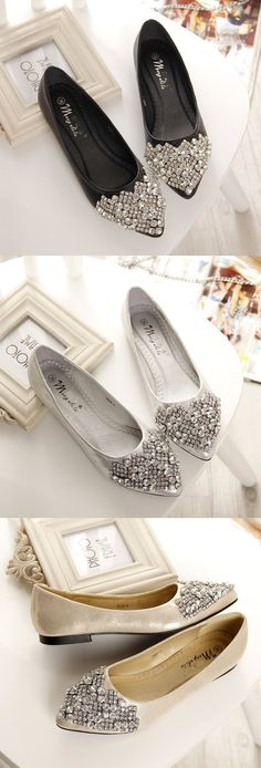 34 Obsession Designer High Heels For College - Shoes Styles & Design Ballerinas, Date Shoes, Flat Dress Shoes, Designer High Heels, Sparkle Shoes, Office Shoes, Unique Shoes, Shoe Art, Pointed Toe Flats
