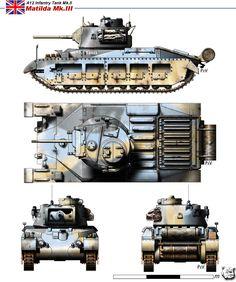 А12 Infantry Tank Mk.II Matilda III