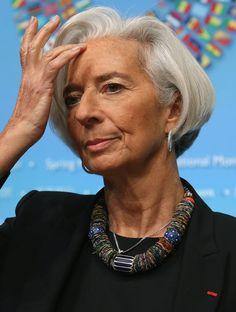 Christine Lagarde - Spring Meetings Held in Washington, DC